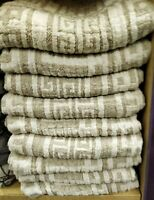 towel FLAX LINEN spa bath serviette for hair Haartuch luxurious high quality