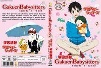 ANIME DVD Gakuen Babysitters(1-12End)English sub&All region + FREE CD