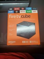 Fire TV Cube with Alexa and 4K Ultra HD Streaming Player (1st gen)