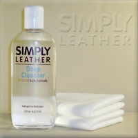 Simply Leather DEEP CLEANSER Cleaner For Car Leather Interiors