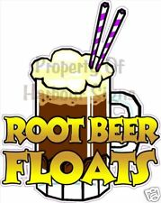 Root Beer Float Drinks Ice Cream Fast Food Trucks Sign Decal Sticker 12