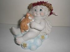 Dreamsicles Snuggle Time 11934 Cat Clouds Angel Collectible Cast Art Industries