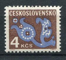 TCHECOSLOVAQUIE - 1972, timbre TAXE 112, FLEURS, neuf**