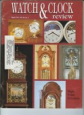 MF-112 - Watch & Clock Review Magazine, March 1991 The Art of Time American Dial