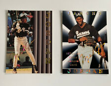 Michael Jordan Baseball Cards ~ Lot of (2) Cards