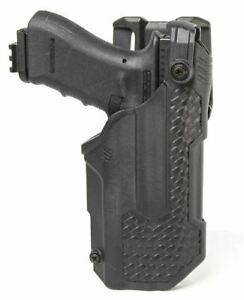 Blackhawk T-Series Holster L3D Glock (RH) 17/19/22/31/45 & TRL - 44N600BWR