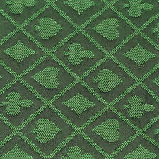 10FT X 5FT Green Two Tone Suited Speed Cloth Poker Table Felt 100% Polyester