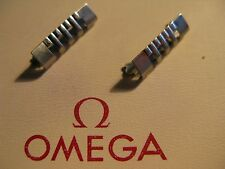 NOS Omega Stainless Steel No. 661 End Links x 2 - In unused condition