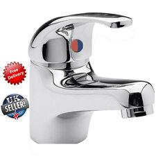 Chrome Classic Bathroom Bath Single Lever Basin Sink Mono Water Mixer Tap Boxed