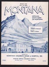 Montana  Sheet Music