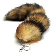 Cool Faux Fox Fur Tail Keychain Tassel Bag Tag Charm Accessory Free Shipping