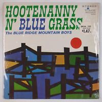 BLUE RIDGE MOUNTAIN BOYS: Hootenanny N' Bluegrass TIME USA Shrink 60s VINYL LP