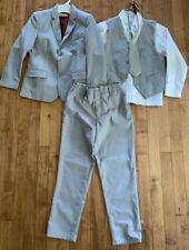 Boys Suit Size 8 YuanLu Gray