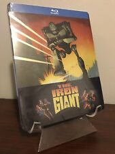 The Iron Giant Steelbook (Blu-Ray Disc, 2018) Factory Sealed!!!