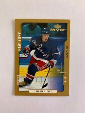 2000-01 Upper Deck MVP Second Stars #121 Theo Fleury 038/100 New York Rangers