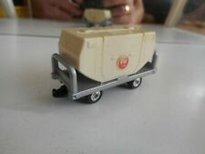 """Tomica Airport Container Car """"JAL"""" in Grey/White (Made in Japan)"""