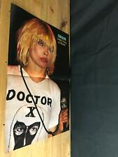 1981 Vintage 2Pg Magazine Poster Centerfold Of Blondie Debbie Harry Doctor X Tee