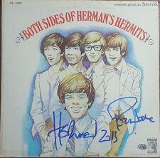 Herman's Hermits Peter Noone Autographed Album W/ PAAS COA Rock