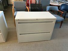 """2Dr 36""""W x 19""""D x 28""""H Lateral File Cabinet by Hon Office Furniture w/ Lock&Key"""