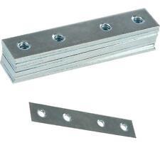 10x FLAT STRAIGHT STEEL MENDING PLATES BRACKETS 75mm METAL BRACES JOIST REPAIRS