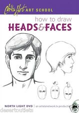 NEW! Chris Hart Art School: How to Draw Heads & Faces [DVD]
