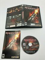 Sony PlayStation 2 PS2 Complete CIB Tested Resident Evil Outbreak Ships Fast