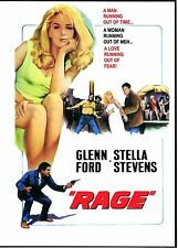Rage starring Glenn Ford & Stella Stevens DVD (1966) New and Still Sealed