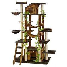 Go Pet Club F2090 77 in. Brown-Black Cat Tree Condo Furniture
