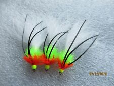 3X CAT. KICK ASS WINTER  PULLING LURES FLY FISHING TROUT FLIES SIZE 10.