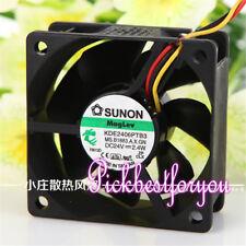 SUNON KDE2406PTB3 Fan 24V 2.4W 3Pin 60*60*25mm #MG14 QL yh