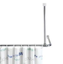 WENKO 19212100 Deckenstütze für Teleskop-duschstange - Aluminium 57 Cm Länge Chrom