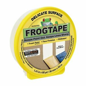 FrogTape 36mm x 55m Delicate Masking Tape Painting renovations DIY frog