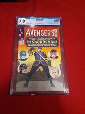 The Avengers #19 CGC 7.0 (Aug 1965 )1st App Swordsman! App in D+ Hawkeye Series