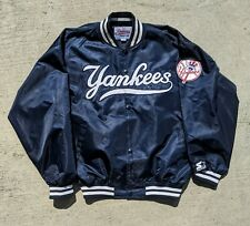 Vintage Starter Authentic Diamond Collection NEW YORK YANKEES Satin Jacket XL