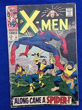 X-Men #35 (Marvel, Aug. 1967) Spider-Man ~ 2nd Appearance of Banshee