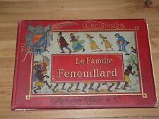 La famille Fenouillard  CHRISTOPHE Cartonnage Engel édition originale rare BD