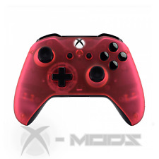 XBOX ONE CUSTOM CONTROLLER - BLACKOUT - Transparent Pink - Soft Touch - X-Mods