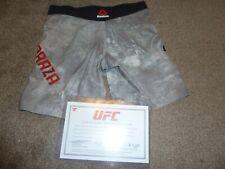 Carla Esparza FIGHT WORN UFC 224 Shorts Vs Gadelha MMA Coa RIZIN WMMA INVICTA