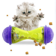 Interactive Cat IQ Treat Ball Toy Smarter Pet Toys Food Dispenser Cat Feeder Toy