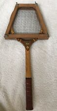 Vintage Samson Star Tennis Racquet 4 5/8 With Wood Keeper ((Japan)