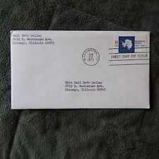 Estate Find FDC ANTARCTIC TREATY 1961-1971 ; 8 CENT -- JUNE 23, 1971