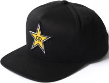 Factory Effex Rockstar Star Snapback Hat-Black - Mens