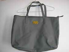PO4 JOY LONDON GRAY GREY Genuine Leather Smart Bag with RFID Protected Clutch