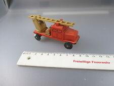 Erzgebirge /Holzmodell /DDR: Feuerwehr  (DK)