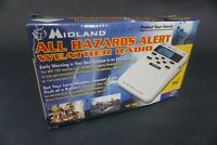 Midland Weather radio WR-100b all hazards alert UT54-S5 safety warning device