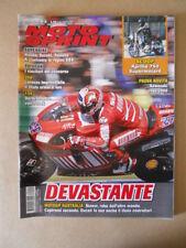 MOTOSPRINT n°42 2007  TEST  KAWASAKI CROSS 2008 [MS8]