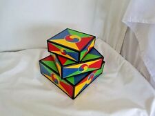 Wood-Nesting-Gift-Box's-Red-Blue-Yellow-Green