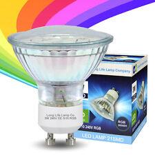 LED 3 W GU10 automatique Changement de Couleur Rouge Vert Bleu Rvb Ampoule