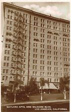 RPPC,Los Angeles,CA.Gaylord Apartments,Wilshire Blvd.,c.1930s