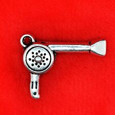 4 x Tibetan Silver Girly Hair Dryer Charm Pendant Finding Beading Making
